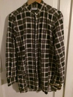 Nonnative Doctor Long Shirt Flannel Size S $137 - Grailed