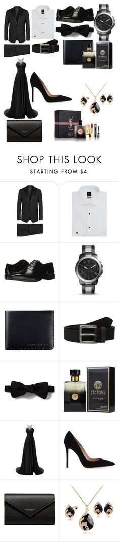 """""""Untitled #209"""" by c-isabel1991 ❤ liked on Polyvore featuring Dsquared2, BOSS Hugo Boss, Massimo Matteo, FOSSIL, Status Anxiety, Timberland, PENHALIGON'S, Gianvito Rossi and Balenciaga"""