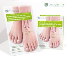 Consigue unos pies suaves y reparados con el calcetín exfoliante Luxiderma. Ahora sólo $7.95€