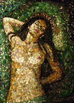 "Saatchi Online Artist Jessica  Rose; Assemblage / Collage, ""Lilith"" #art"