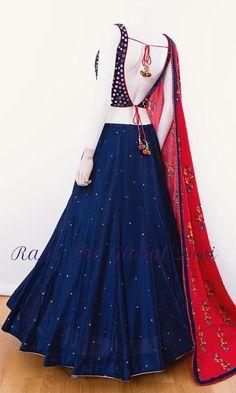 choli-Raas The Global Desi-[chaniya_choli]-[chaniya_choli_for_garba]-[chaniyacholi]-[chaniyacholi]-[chaniya_choli_online_usa]-Raas The Global Desi Indian Fashion Dresses, Indian Gowns Dresses, Dress Indian Style, Indian Designer Outfits, Fashion Outfits, Garba Dress, Navratri Dress, Lehnga Dress, Lehenga Gown