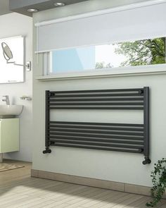 View technical details and pictures of ADIGE Wide High Anthracite Towel Radiator and purchase online for next business day delivery! Bathroom Towel Radiators, Radiator Valves, Heated Towel Rail, Family Bathroom, Bathroom Ideas, Central Heating, Interior And Exterior, The Help, New Homes
