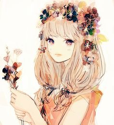 This screams Shoujo~!! to me hahah, but the colors are nice, they give off a warm and happy feeling.