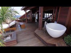 Richard Branson, Bathtub, Island, House, Design, Standing Bath, Block Island, Bath Tub, Home