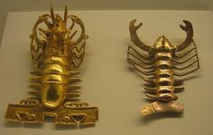 Pre-Columbian Gold Museum, San Jose, Costa Rica - Lobster Artifacts