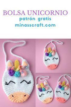 67 Ideas Crochet Bag Pattern Free Easy Sewing Projects For 2019 Crochet Girls, Love Crochet, Crochet For Kids, Crochet Baby, Hat Crochet, Crochet Toys, Crochet Slippers, Crochet Clothes, Crochet Handbags