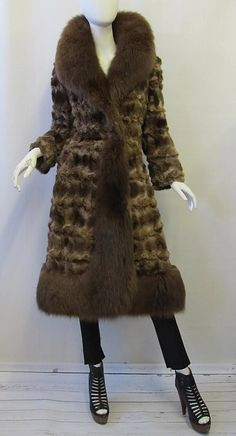 Vintage 1970's Sable and Fox Fur Roberts Gaffney by mysterymister