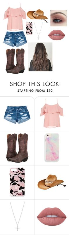 """My Glam"" by msample2021 on Polyvore featuring BB Dakota, Ariat, Rebecca Minkoff, San Diego Hat Co. and Lime Crime"