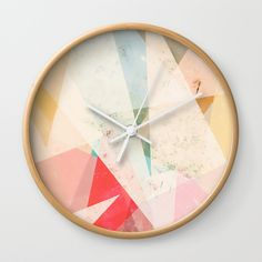 Check out society6curated.com for more! @society6 #art #design #creativity #creative #home #decor #homedecor #clocks #time #apartment #apartmenttherapy #homesweethome #sophomore #sophomoreyear #apartmentgoals #buy #shop #shopping #sale #gift #idea #gifting #giftidea #fun #cool #sweet #awesome #abstract #abstraction #white #red #blue #yellow #geometric