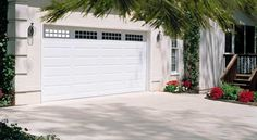 Lincoln Collection | Banko Overhead Doors & Amarr Ribbed Panel garage door custom painted by the homeowner ... Pezcame.Com