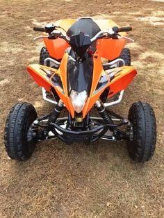 Custom Built ATV   Walsh Race Craft custom built ATV with a Chromoly ...