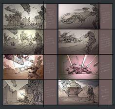 N2-storyboard03_s2 by Yuanda Yu | Sci-Fi | 2D | CGSociety