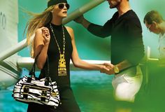 100 Male Models: Noah Mills in Michael Kors Cruise 09 campaign