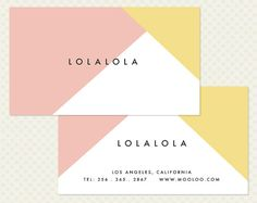 This double sided business card design was created with a very clean, crisp, modern business in mind. By the time your name is added it will