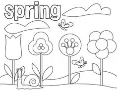 66 best Coloring: Seasons: Spring & Summer images on Pinterest ...