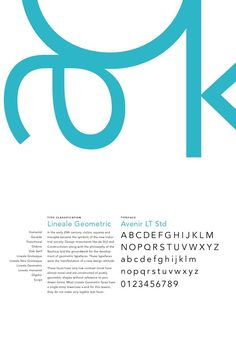 Type Classification Poster Series by Paula Lavalle, via Behance