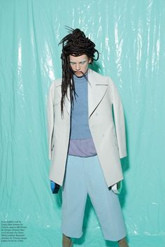 Ashleigh Good & Mijo Mihaljcic by Viviane Sassen for Pop Magazine #29 FallWinter 2013-2014