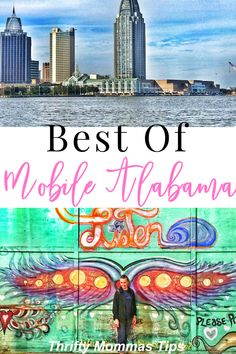 Mobile Alabama is a curious destination and a fun port city brimming with good food, adventures and a weighty history as well. Here are all the Fun Things to Do on a Mobile Alabama Girl's Trip - Thrifty Mommas Tips Canada Travel, Travel Usa, Places To Travel, Travel Destinations, Mobile Alabama, Road Trip Usa, United States Travel, Travel Guides, Travel Tips