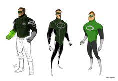 Os super-heróis em diferentes estilos de Franco Spagnolo