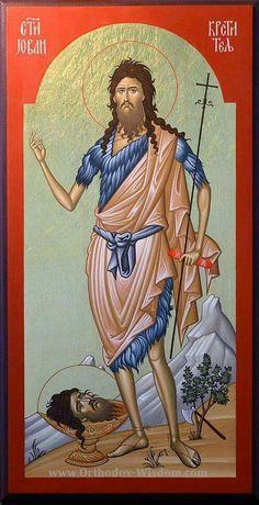 John de Baptist Orthodox Icons 04 on Behance Byzantine Icons, Byzantine Art, Religious Icons, Religious Art, Lord John, Religion, Biblical Art, Best Icons, John The Baptist