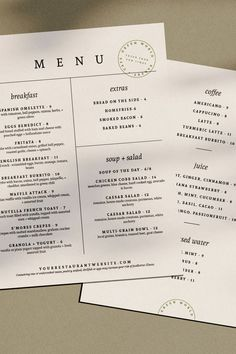 Bring a fresh look to your business with a new menu design that will delight your customers and create a memorable and branded experience for your restaurant, bar, lounge, or other hospitality business. #restaurantmenudesign #design #designtemplate