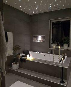 Amazing tub with stars!