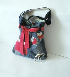 Lovely denim bag (picture only)