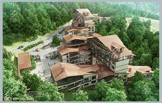 Town-planning Resort Concept.Krasnaya Polyana