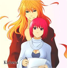 Agni and Brilith (from Kubera) --Aww, they looks so cute together!