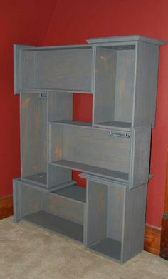 Drawer shelves