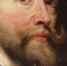 Peter Paul Rubens (Flemish, 1577–1640): (detail) Self-portrait, oils on canvas