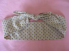 Retro/vintage style print hair scarf/headscarf/dolly by LumeLapin, £4.00