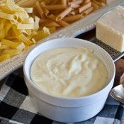 Homemade Alfredo Sauce - Top your pasta with this creamy homemade Alfredo sauce.