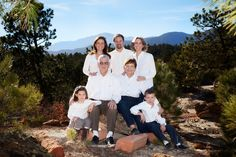 Nice extended family pose. Not a big fan of the all white shirts, though.
