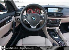 Interior of my BMW X1
