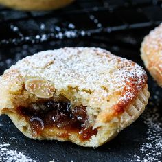 Frangipane Mince Pies with homemade pastry - serve warm or cold for a delicious traditional Xmas snack.