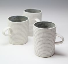 Small pinched cups - Susan Disley