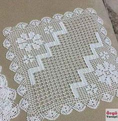 Granny Square Crochet Pattern, Crochet Motif, Crochet Doilies, Crochet Flowers, Crochet Lace, Crochet Stitches, Crochet Cushions, Crochet Tablecloth, Doily Patterns