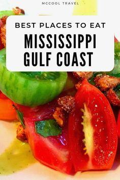 Coastal Mississippi Usa Places To Eat Coastal Mississippi Mississippi Gulf - Bilmece Coast Restaurant, Restaurant Guide, Usa Travel Guide, Travel Usa, Travel Tips, Mississippi, Drinking Around The World, Usa Tumblr, Road Trip Usa