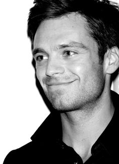 Sebastian Stan Looks a bit like Henry Fonda in this picture...and I'm perfectly fine with that.