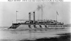 "At the onset of war both the Army and Navy officers recognized the need for river gunboats complementing land operations along the Mississippi River and tributaries. The requirements for river operations - or ""brown water"" - differed significantly from the more traditional ""blue water"" navy's warship designs."