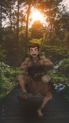 Taiju Wallpaper (by – Dr. Manga Anime, Anime In, Anime Japan, Otaku Anime, Anime Shows, Japan Japan, Stone Wallpaper, Stone World, Gekkan Shoujo