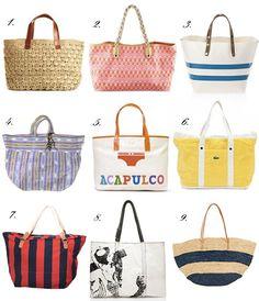 Beach Bags.