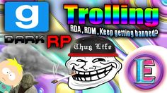Gmod DarkRP TROLLING  - SERVER JUMPING MORE RDM , RDA (Why do i keep get...