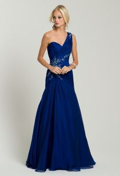 Prom Dresses 2013 - Beaded One Shoulder Long Dress from Camille La Vie and Group USA