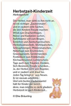 Ein Herbstgedicht für Kinder You are in the right place about Montessori Education teaching Here we offer you the most beautiful pictures about the Montessori Education toddlers Education Week, Education Humor, Educational Websites, Educational Activities, Life Lesson Quotes, Life Quotes, Kindergarten Portfolio, Montessori Education, Time Kids