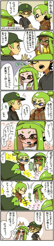 スプラトゥーンまとめ(イカ♂♀有)