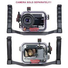 #Ikelite Underwater Video Housing forJVC GZ-HM30, HM50, HM301, HM430, HM435, HM440, HM445, HM446, HM450, HM650, HM655, HM670 & HM690 Video #Cameras