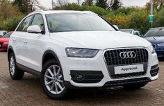 Used 2014 (64 reg) Shell White Audi Q3 2.0 TDI SE 5dr for sale on RAC Cars