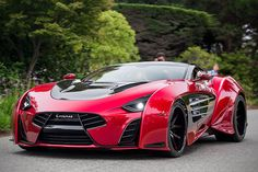 $2 Million Laraki Epitome Supercar. Corvette C6 Chassis and Chevy V8 Engine, 1200 hp on Pumpgas and 1750 hp on 110 Octane Racing Fuel in Separate Tanks with Switch, and Weighs in at 2,800# with Carbon Fiber Body.